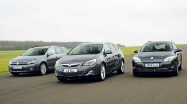 Vauxhall Astra Sports Tourer vs. rivals