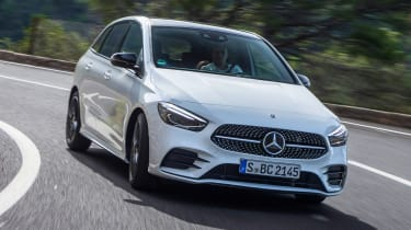 Mercedes B-Class - front action