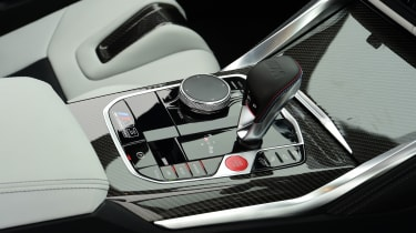 BMW M3 Competition - gear lever