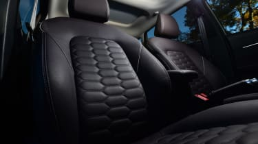 Ford Fiesta Vignale front seats