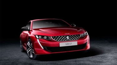 Peugeot 508 leaked - front studio