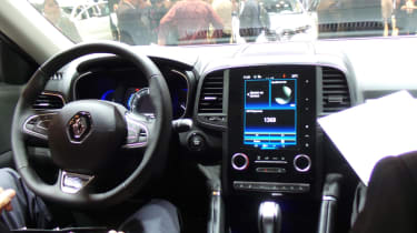 Renault Koleos - Paris interior