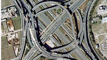 Expressway 9 and 6 Interchange, Tokyo, Japan