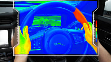 JLR Sensory steering wheel
