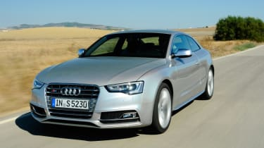 The Audi S5 is the high performance version of the A5 Coupe.