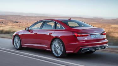 New Audi A6 - rear