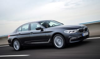 New BMW 5 Series - front