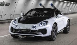 Alpine A110 SportsX - front