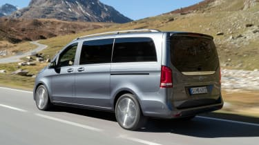 Mercedes V-Class facelift - rear
