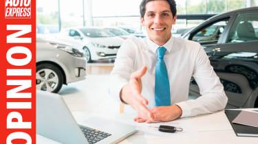 Opinion - car salesman