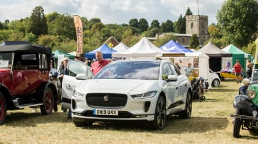 Jaguar I-Pace long termer - second report - Steve with car