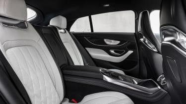 Mercedes-AMG GT 4-Door 2021 facelift - rear seats