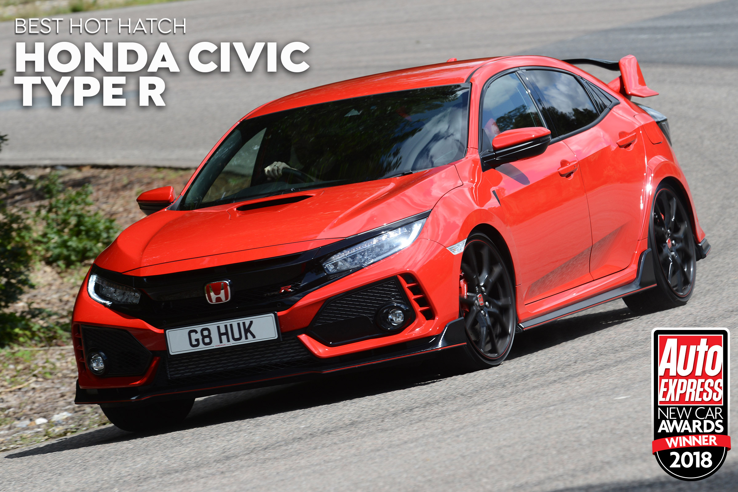 Hot Hatch Of The Year 2018 Honda Civic Type R Auto Express
