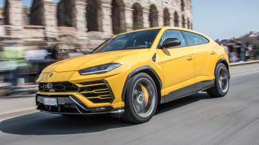 Lamborghini Urus - Rome