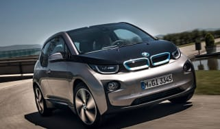 BMW i3 front tracking
