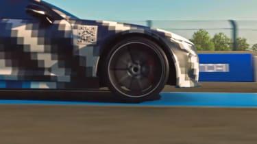 Hyundai hydrogen-powered sports saloon teaser 2