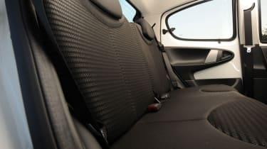 Peugeot 107 rear seats