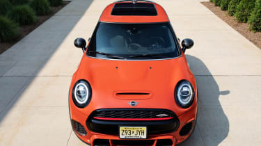 MINI John Cooper Works International Orange Edition - front
