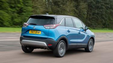 Vauxhall Crossland X - rear blue