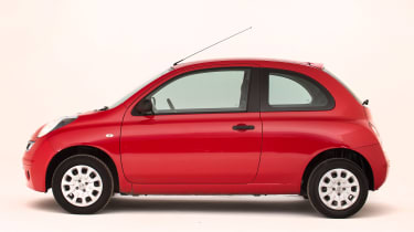 Used Nissan Micra - side