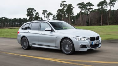 BMW 3 Series Touring - front