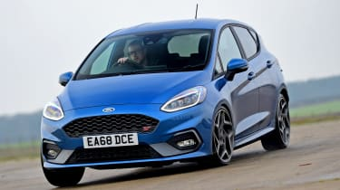 Ford Fiesta ST - long term third report front cornering