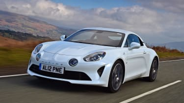 Alpine A110 Pure - front