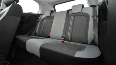 Fiat Punto rear seats
