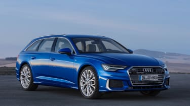 Audi A6 Avant - front static