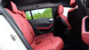 Peugeot 508 SW estate rear seats