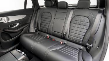 Mercedes GLC 250 - rear seats