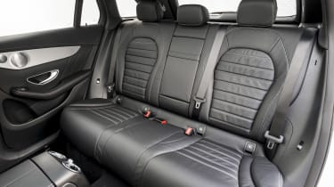 Mercedes GLC 250 - rear seats