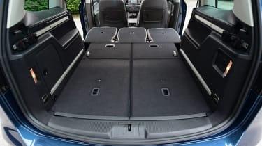 Volkswagen Sharan folded seats