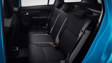 Dacia Logan MCV Stepway - rear seats