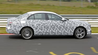 Mercedes E-Class 2016 spies side