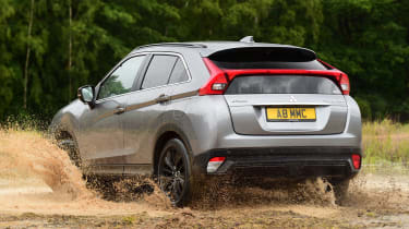 Mitsubishi Eclipse Cross Black Connected - rear off-road