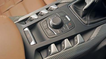 Citroen DS5 centre console