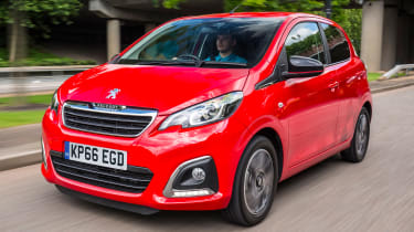 Peugeot 108 - front tracking