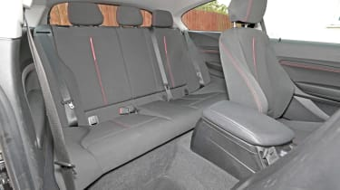 Used BMW 1 Series - rear seats