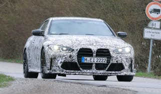 BMW M4 CS 2021 spy