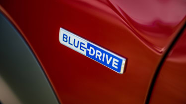 Hyundai Kona Electric - Blue Drive badge