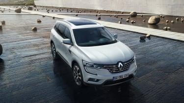 Renault Koleos - above