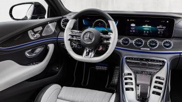 Mercedes-AMG GT 4-Door 2021 facelift - interior