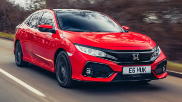 Honda Civic diesel automatic review header