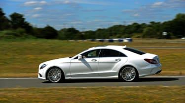 New Mercedes CLS 2014 pan