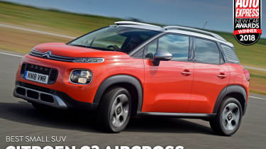 Citroen C3 Aircross - 2018 Small SUV of the Year