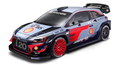 Hyundai i20 WRC - front
