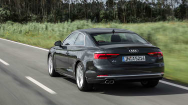 Audi A5 Coupe 2016 - rear tracking