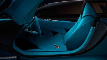 DS X E-Tense concept - seat