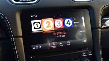 New Porsche Cayman GTS review - infotainment